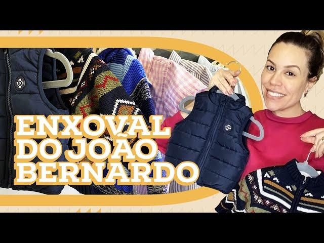 ROUPAS DO ENXOVAL DO JOÃO BERNARDO | MATERNIDADE | Go Deb