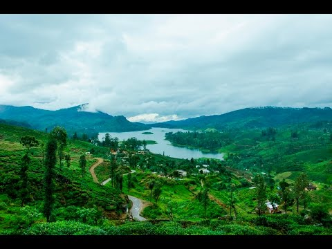 The Beauty of the Central Hills of Sri Lanka - TIMELAPSE VIDEO COMPILATION