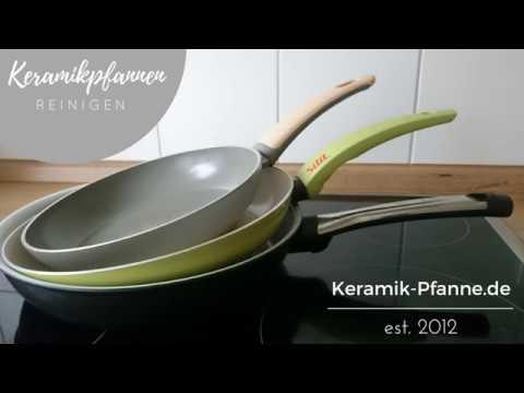 Extrem ▷ Reinigung und Pflege einer Keramikpfanne ZK34
