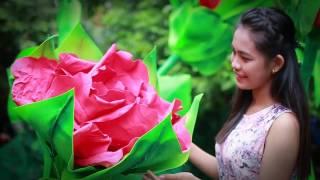 Hoa hồng tự nở - Automatic flower HANA Paper Art