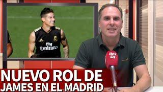 El Real Madrid Cambia Su Estrategia Con James Las Claves Que Confirman Su Nuevo Rol  Diario As