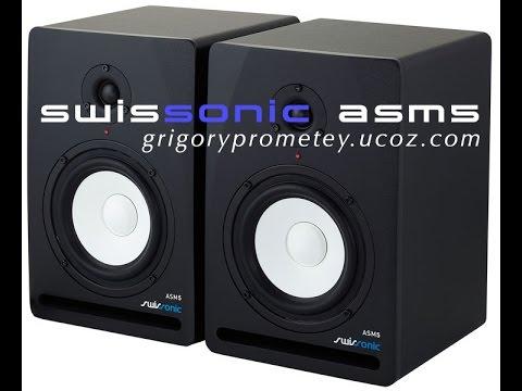 Обзор активных студийных мониторов Swissonic ASM5 от Grigory Prometey.