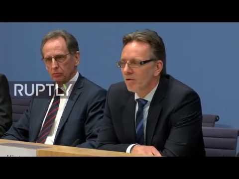 LIVE: German prosecutor and criminal police chief talk to pr
