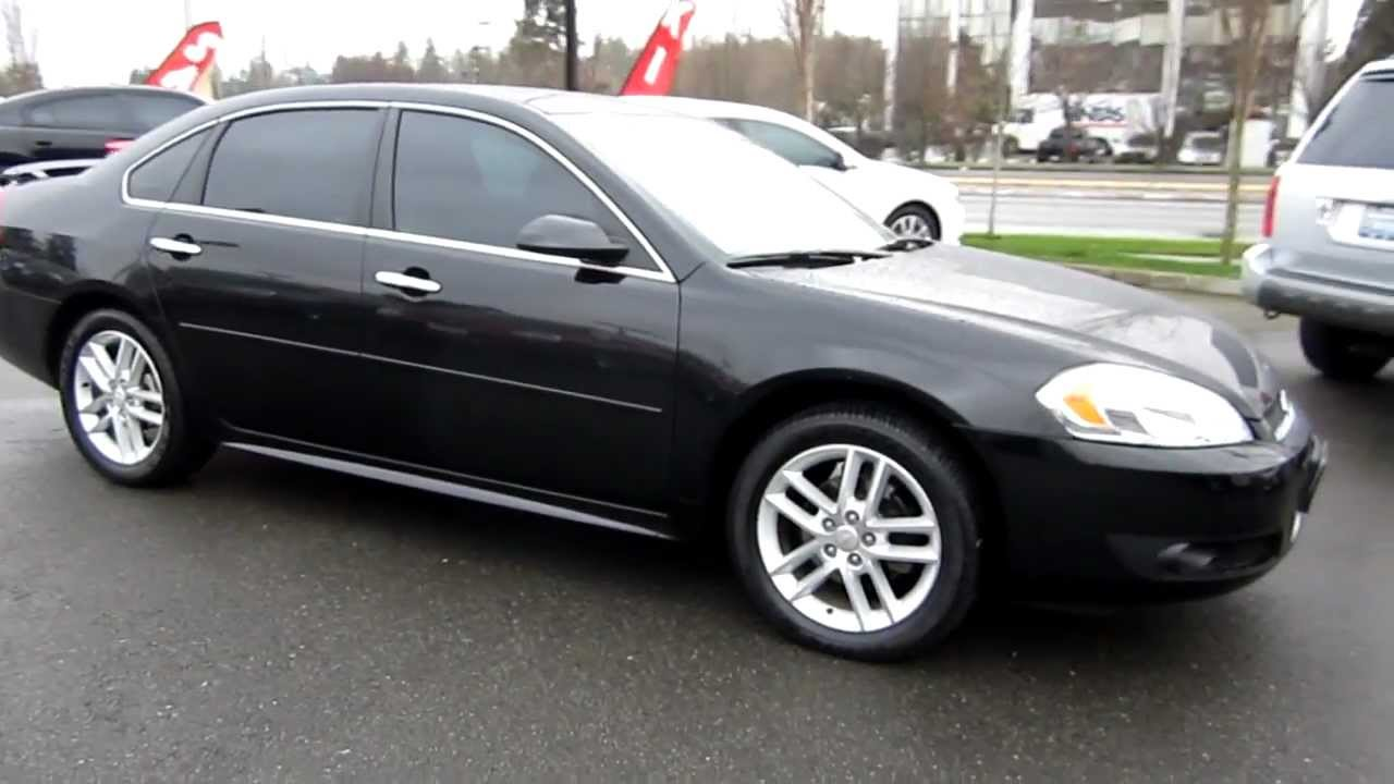 2012 chevrolet impala ltz black stock 606592 walk. Black Bedroom Furniture Sets. Home Design Ideas