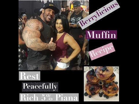 Rest Peaceully Rich Piana 5% | Life Update | Berrylicious Recipe