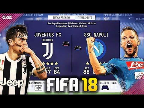JUVENTUS VS NAPOLI in FIFA 18!!! ANCORA SFIDA SCUDETTO?! [Serie A - Stagione 2017/2018]