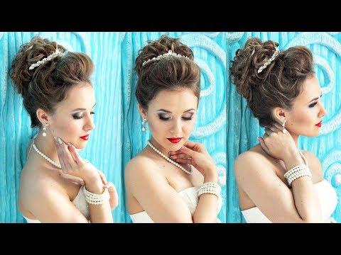 Hairstyle for long hair - Свадебная причёска с диадемой - Hairstyles by REM