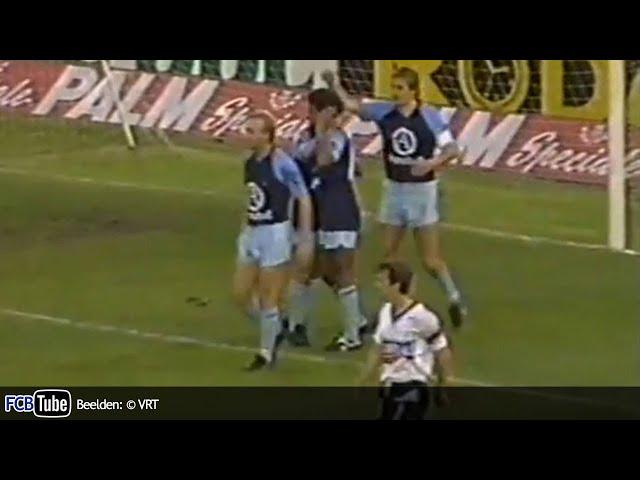 1988-1989 - Jupiler Pro League - 06. Sporting Lokeren - Club Brugge 1-2