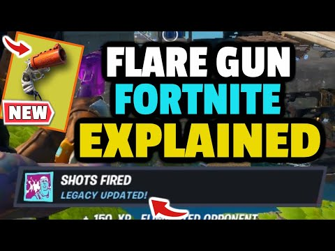 How To Get FLARE GUN  In Fortnite? Flare Gun Ammo? What Does The Flare Gun Do In Fortnite?