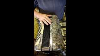 Vintage Hohner Tango Ii M Piano Accordion 96 Bass Reg No 100744 Made In Germany