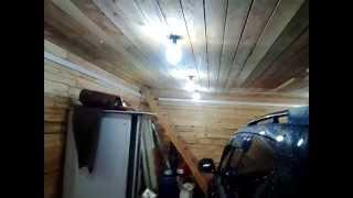 видео Как правильное сделать освещение гаража своими руками