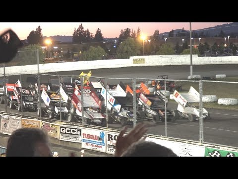 KWS/NARC 410s MAIN 6-17-17 Petaluma Speedway