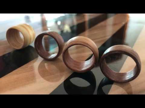 Easy Bentwood Rings