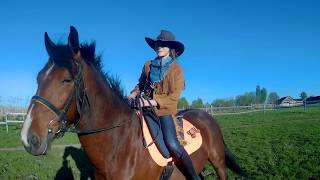 Эстафета на лошадях: костюмированный движ :)