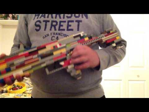 Custom AK style lego assault rifle