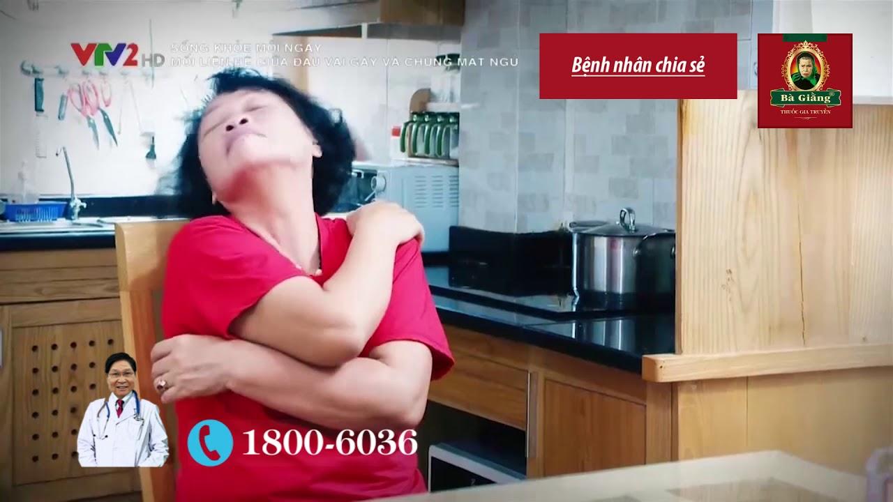 Mối liên hệ giữa đau vai gáy và chứng mất ngủ [CVG. 7]