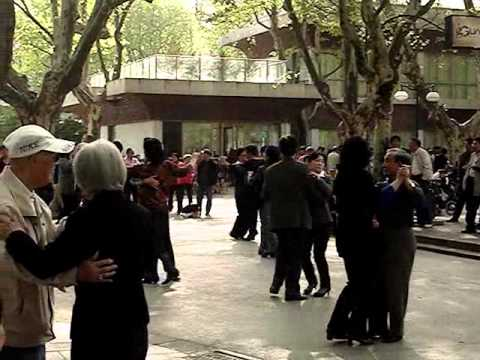 Life in Shanghai: Senior Social at Fuxing Park