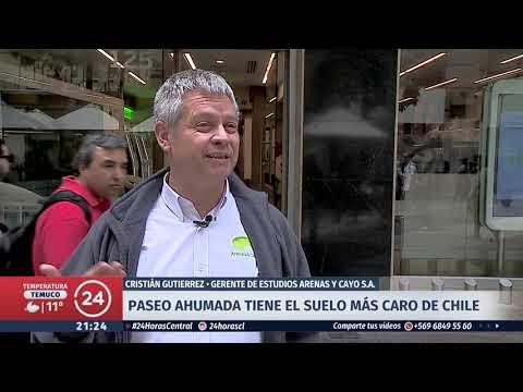 Paseo Ahumada tiene el suelo más caro de Chile tras registrar récord de venta