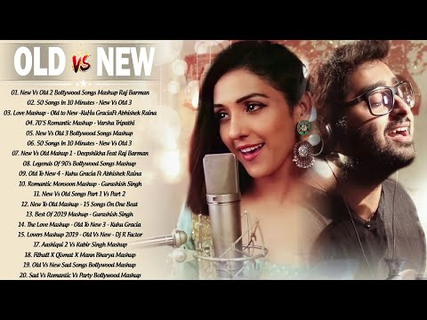 Old Vs New Bollywood Mashup Songs 2020 | Romantic Hindi Love Songs Mashup Dj Remix_Bollywood Songs