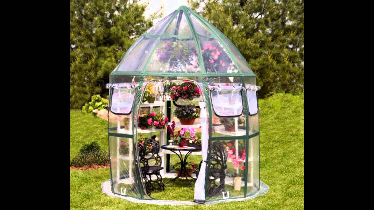 small garden greenhouse ideas - youtube