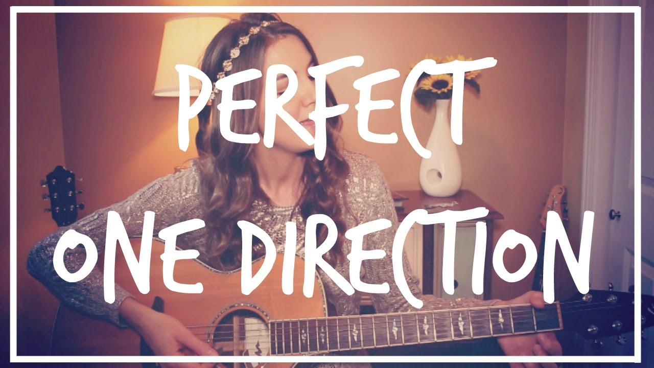 Perfect One Direction Guitar Tutorial Easy Chords Youtube