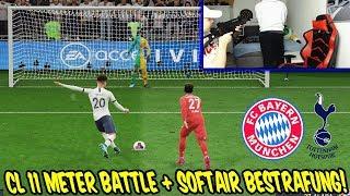 Extreme SOFTAIR Bestrafung! Elfmeterschießen Bayern vs Tottenham mit Bruder - Fifa 20 Ultimate Team