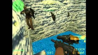 Давайте по играем в Counter-Strike 1.6 Zombie сервер #1