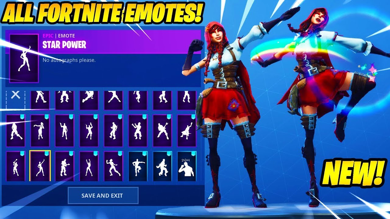 New Fable Skin Showcase With 80 Fortnite Dances Emotes