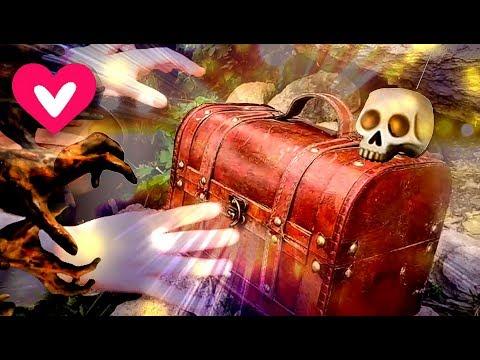 Челлендж. Поиск пиратских сокровищ квест. Игры на природе для детей. Видео круче, лайк настя