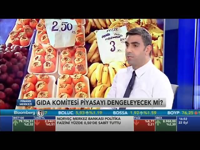 Gıda Enflasyonu Konferansı 28 Eylül'de Tarım Analiz Programında Değerlendirilecek
