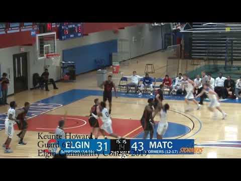 Keunte Howard 6'0 Elgin Community College Guard Available 2019