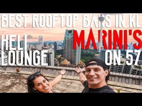MUST VISIT ROOFTOP BARS IN KUALA LUMPUR