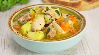 Тушеная курица на обед или ужин для всей семьи. Рецепт от Всегда Вкусно!