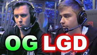 OG vs LGD - Elimination Match! - TI7 DOTA 2