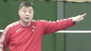 Badminton: Follow Lee (2) The Net Kill 2-3 (How to Hit)
