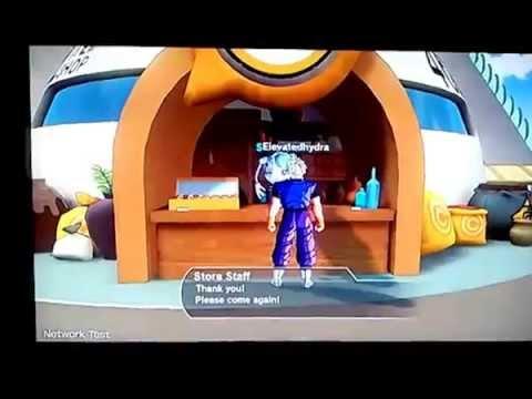 Going into the Lobby (Dragon Ball Xenoverse)