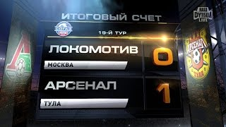 Highlights Lokomotiv Vs Arsenal (0-1) | RPL 2014/15