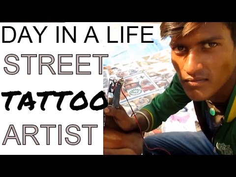 Fastest Best Tattoo Artist In Action Unreal India