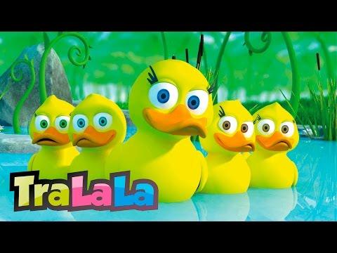 Rățuștele mele pe apă s-au dus - Cântece pentru copii | TraLaLa