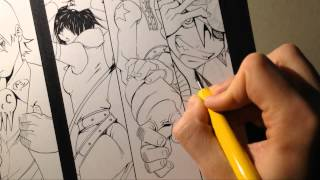SOUL EATER - Speed Drawing