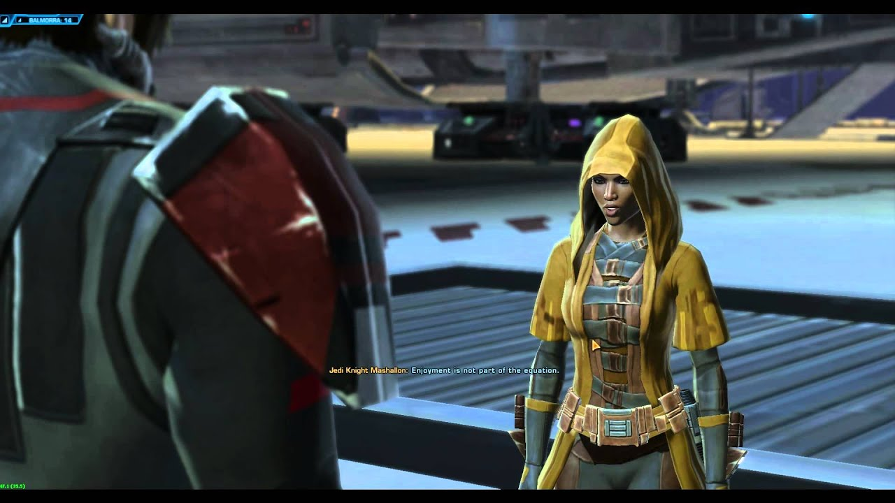 SWTOR: Sith Warrior Final Balmorra Mission - YouTube