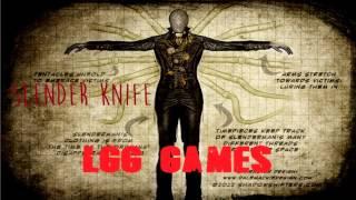 Slender KNIFE (El hermano de Slenderman) experimento 109-A por LGG GAMES