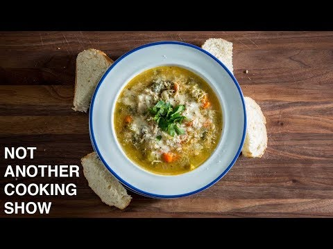 How to make freezer chicken noodle soup better when sick