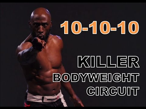 10 Minute Bodyweight Circuit