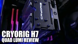 Video The Cryorig H7 Quad Lumi is Awesome! (But Can it Handle the 7900X Egg Fryer?) download MP3, 3GP, MP4, WEBM, AVI, FLV Oktober 2018