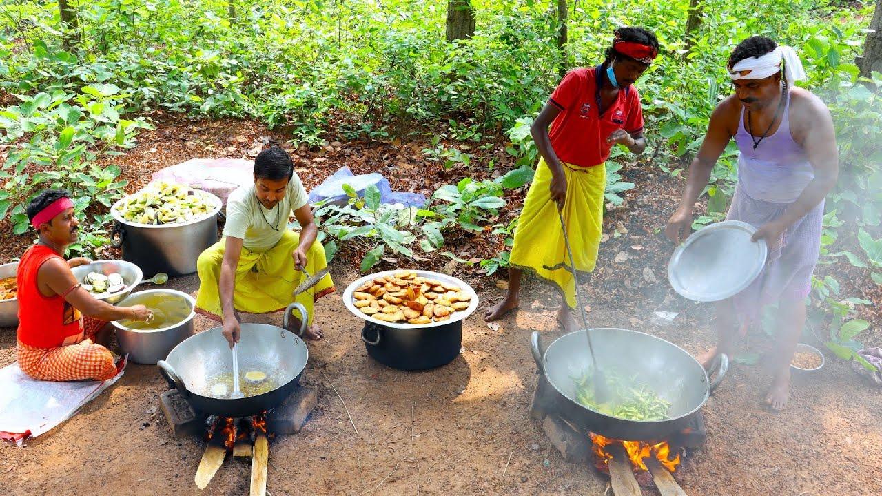 KATLA FISH KALIA & MIXED VEGETABLE cooking   We cook for Tribe village people   villfood Kitchen