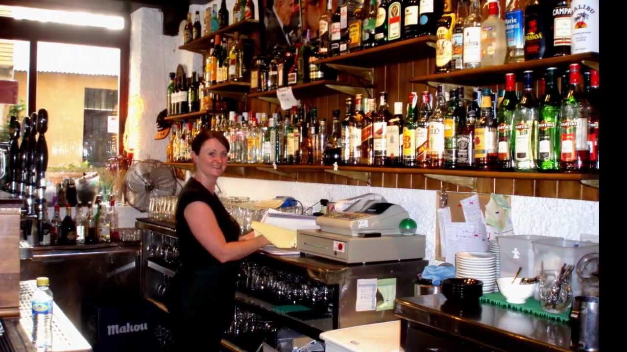 Irish pub Molly Malone's in La Cala Finestrat - YouTube