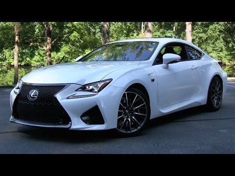 2015 Lexus RC F Start Up, Road Test, and In Depth Review