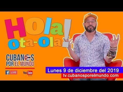 Alex Otaola en Hola! Ota-Ola en vivo por YouTube Live (lunes 9 de diciembre del 2019)