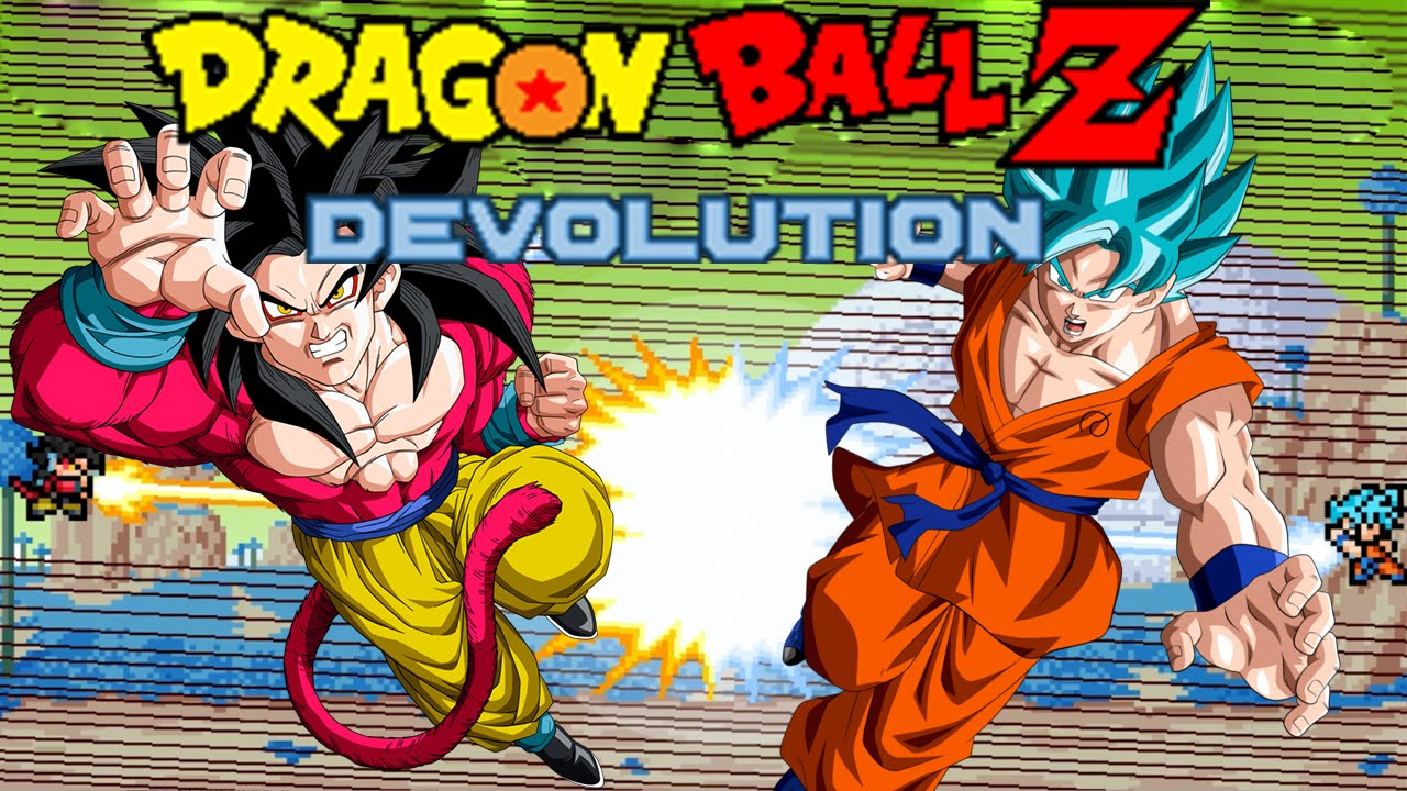 Dragon ball z devolution super saiyan god super saiyan goku vs super